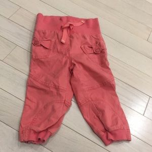 🌿8/$45🌿 MEXX Pink Cargo Style Pants 5T